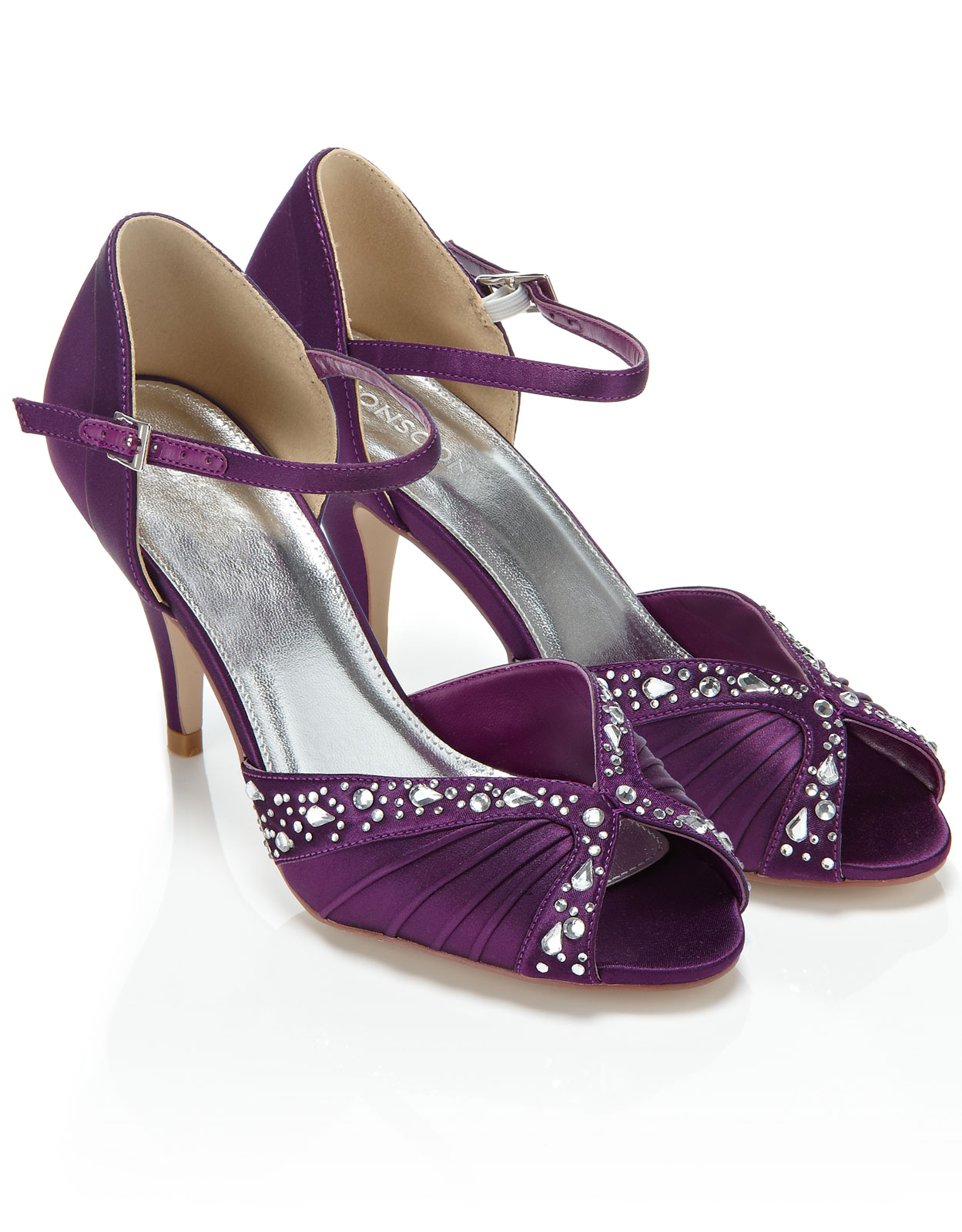 Purple Low Heels BHcHBnfR