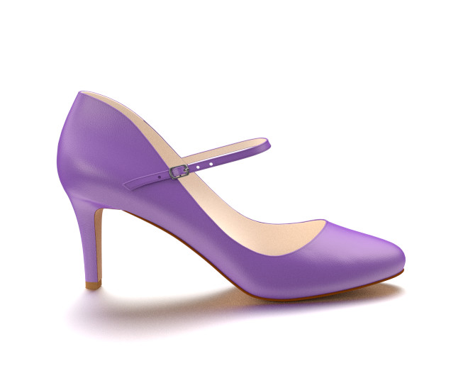 Purple Mary Jane Heels RK3qdHs6