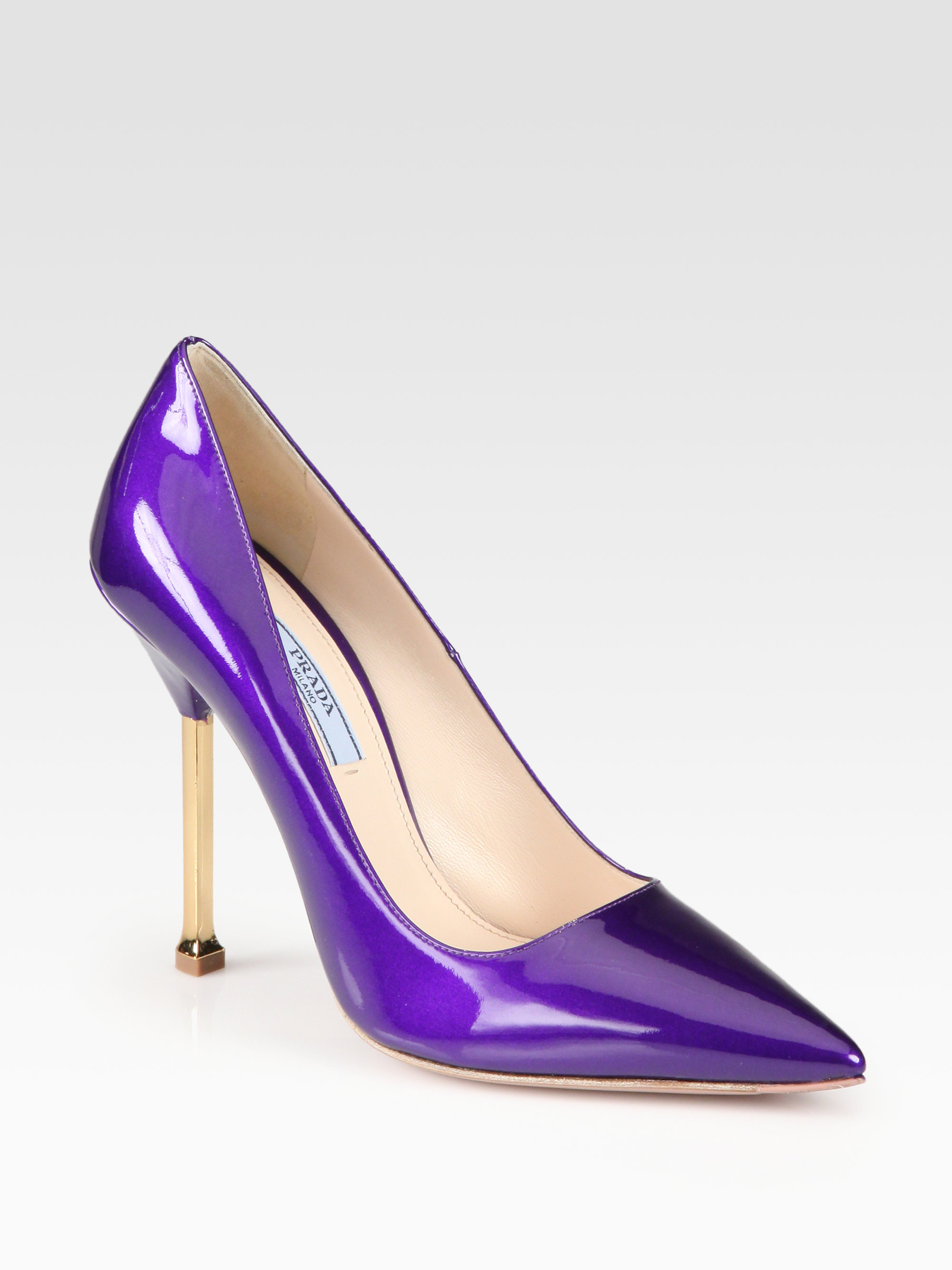 Purple Patent Leather Heels tfJCsGBS