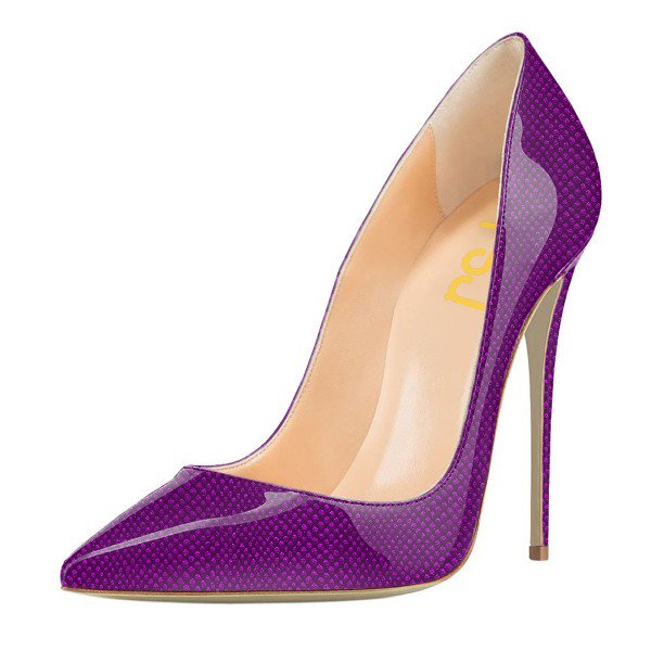 Purple Stiletto Heels Hirsp8QN