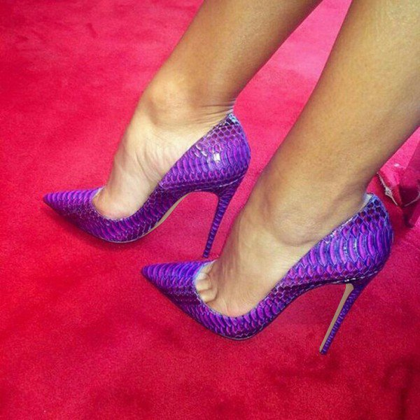 Purple Stiletto Heels NgSqjTfW