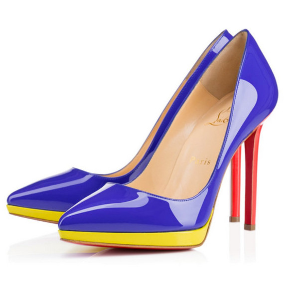Red And Blue Heels TqOZR6Je
