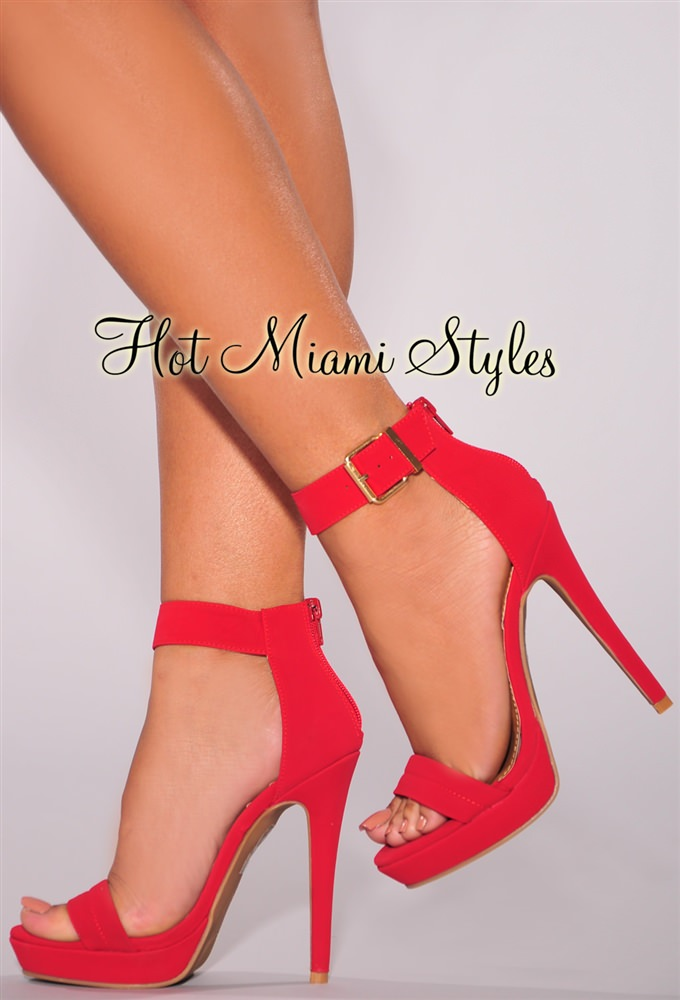 Red Ankle Heels cqAF3BPy