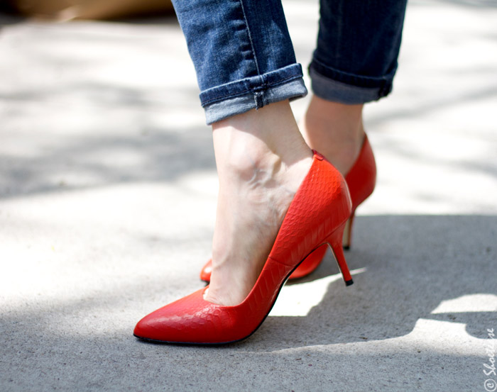 Red Comfortable Heels w9vgcCAI