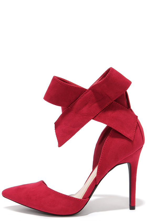 Red Heels Bow KwG0pAkU