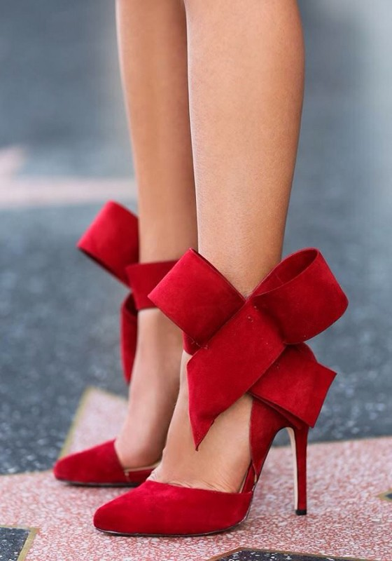 Red Heels Bow 4agHhA11