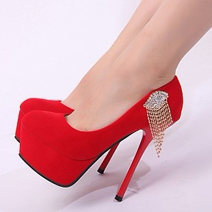 Red High Heel Shoes For Women GngNlgNo