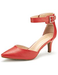 Red Low Heel Shoes 00ooy4fA