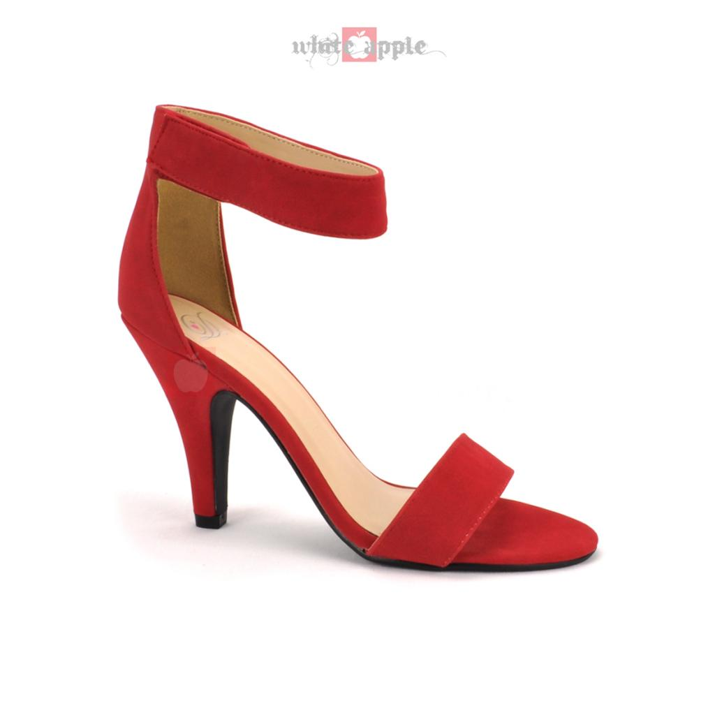 Red Open Toe High Heels keMpSVMf
