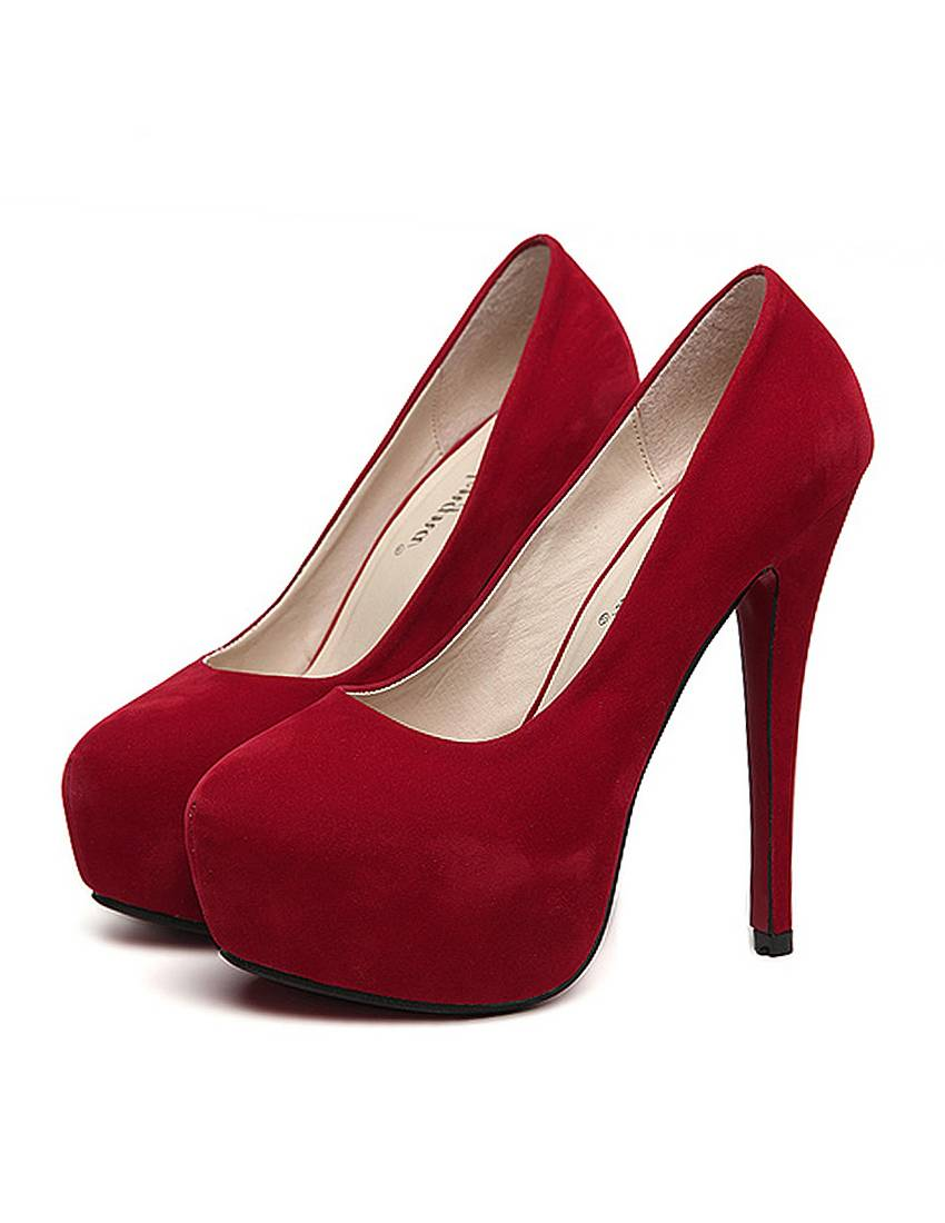 Red Pump High Heels QKWmNrGj