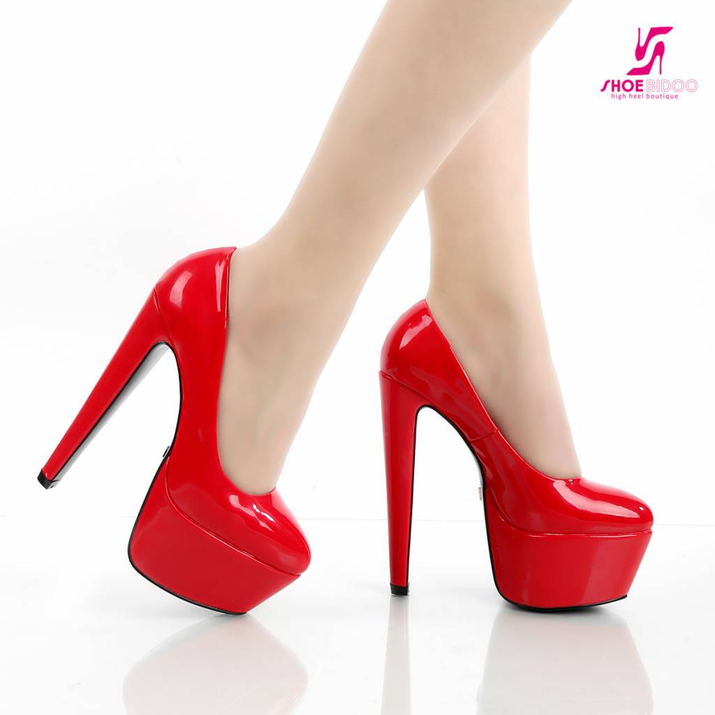 Red Shiny Heels uZjz9N5s
