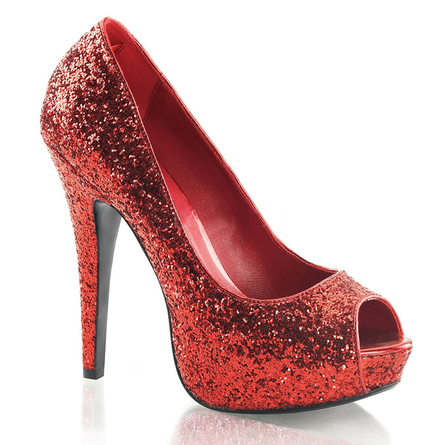 Red Sparkly High Heels MnOUzoHW
