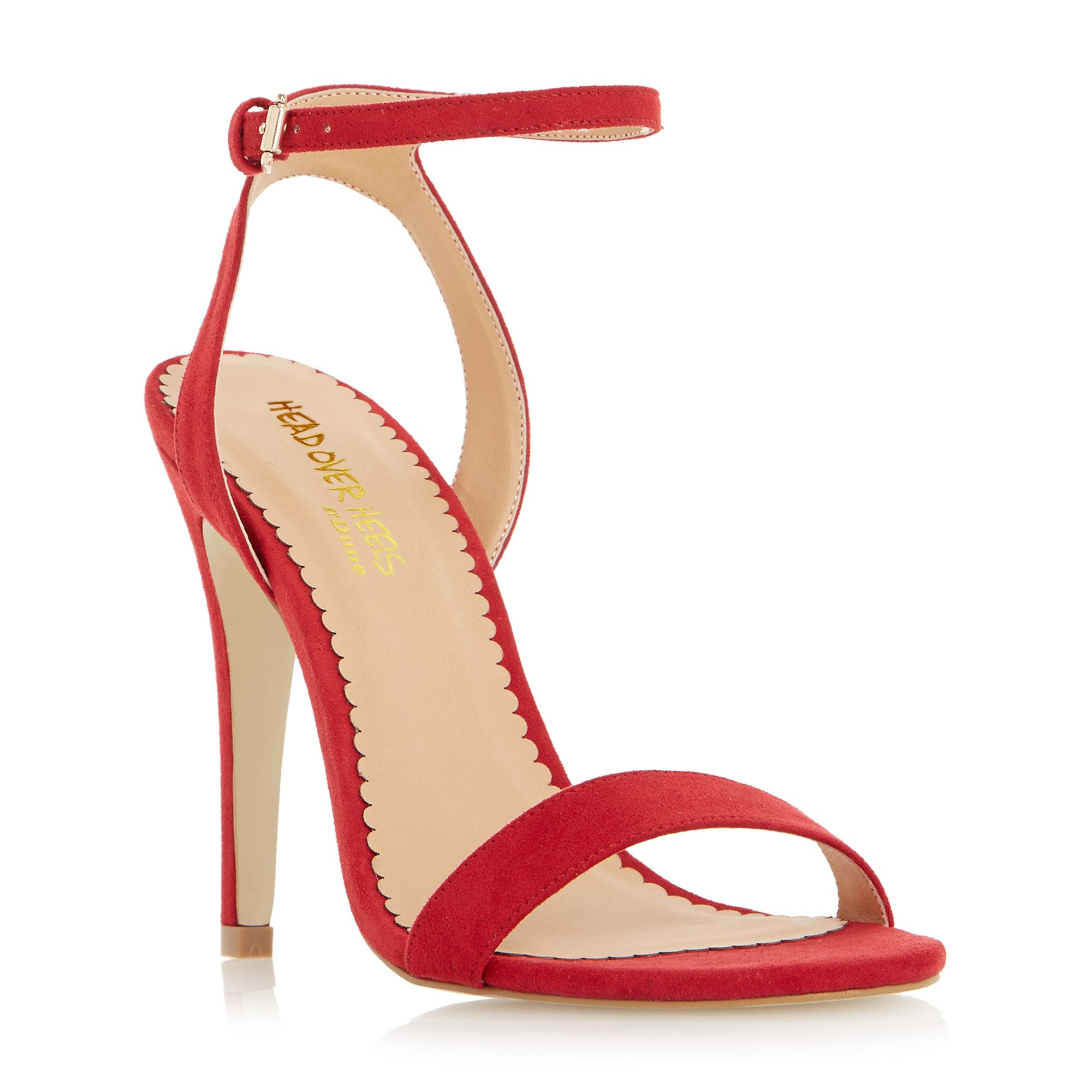 Red Strappy High Heel Sandals IgD5JHHq
