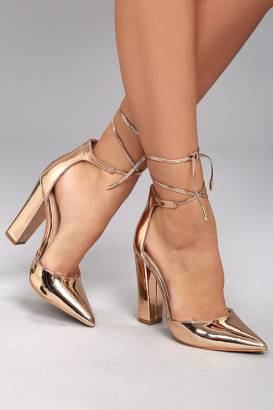 Rose Gold Heels lZVrDZOp