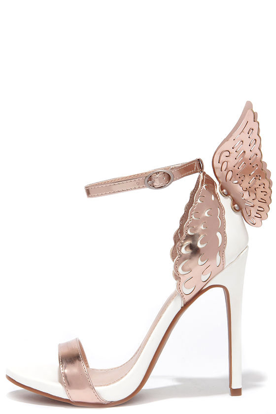 Rose Gold Shoes Heels reipXrsQ