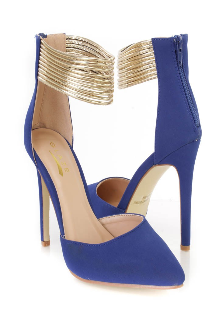 Royal Blue Shoes Heels 5z6Ux0g9