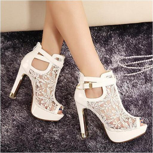 Sexy Lace Heels LO5mddwF
