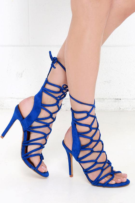 Sexy Lace Up Heels 9SxmFtMG