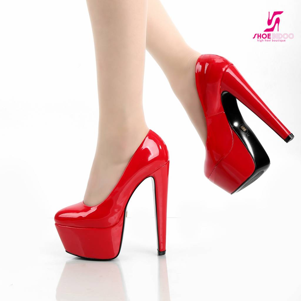 Shiny Red Heels eDckU49P
