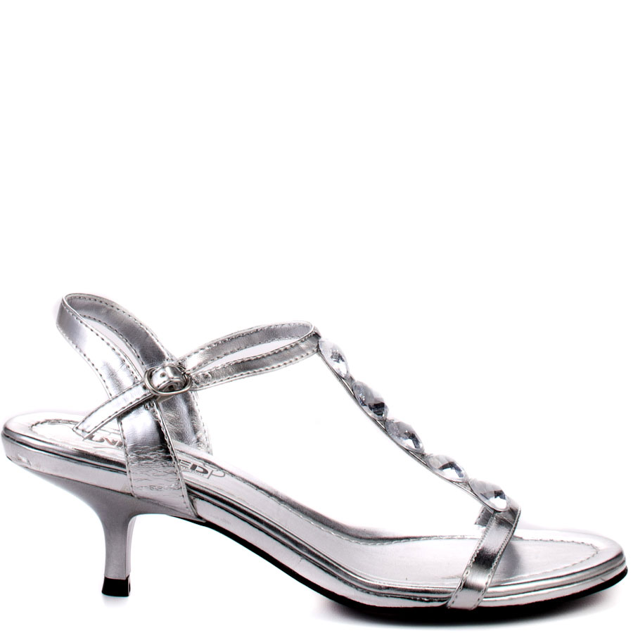 Silver Heels 2 Inches k3C8Mcy9
