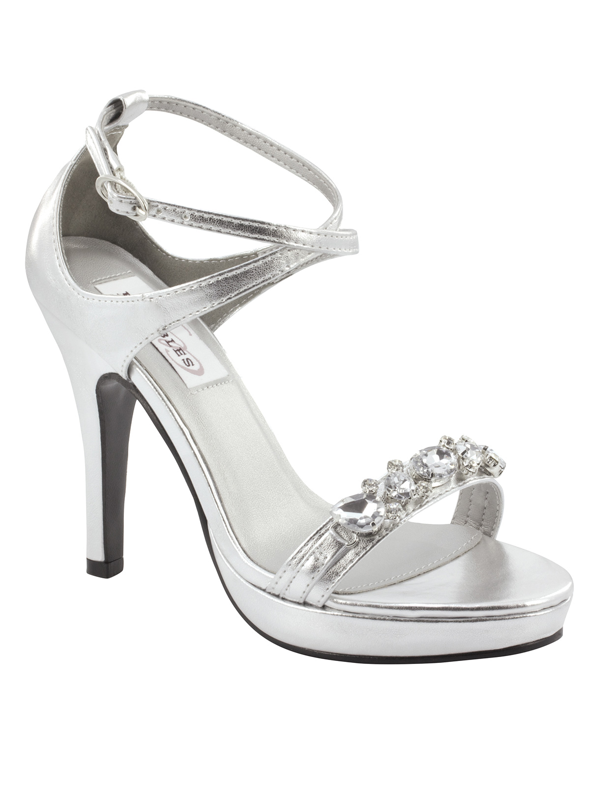 Silver Heels 3 Inches o0P97sq2