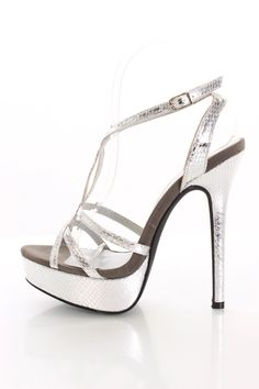 Silver Heels For Cheap 8yt64g3M