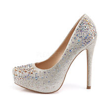 Silver Heels For Prom 5IBIZW9x