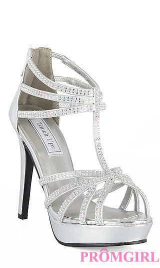 Silver Heels For Prom YKRcqG7o