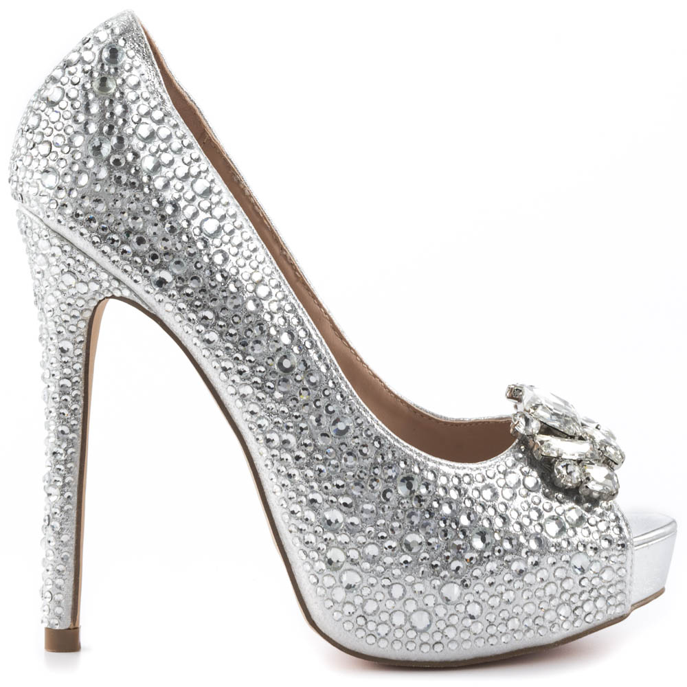 Silver Shoes High Heels X6gyru6t