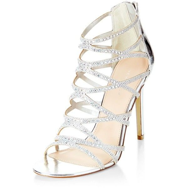 Silver Shoes High Heels DhTtT0A6