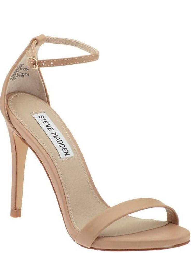Simple Nude Heels y1453iS2