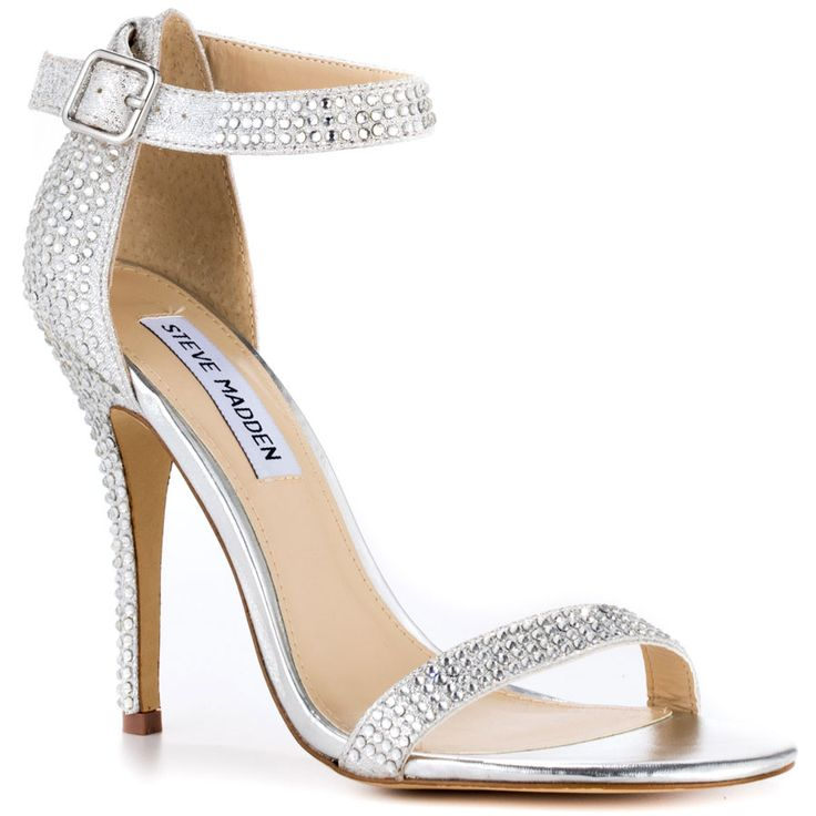 Simple Silver Heels ZSe2MSGl