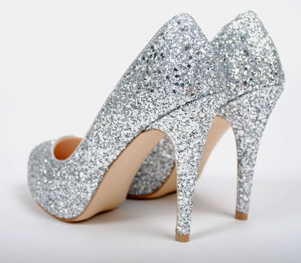 Sparkly Silver Heels For Prom wCarWFiT