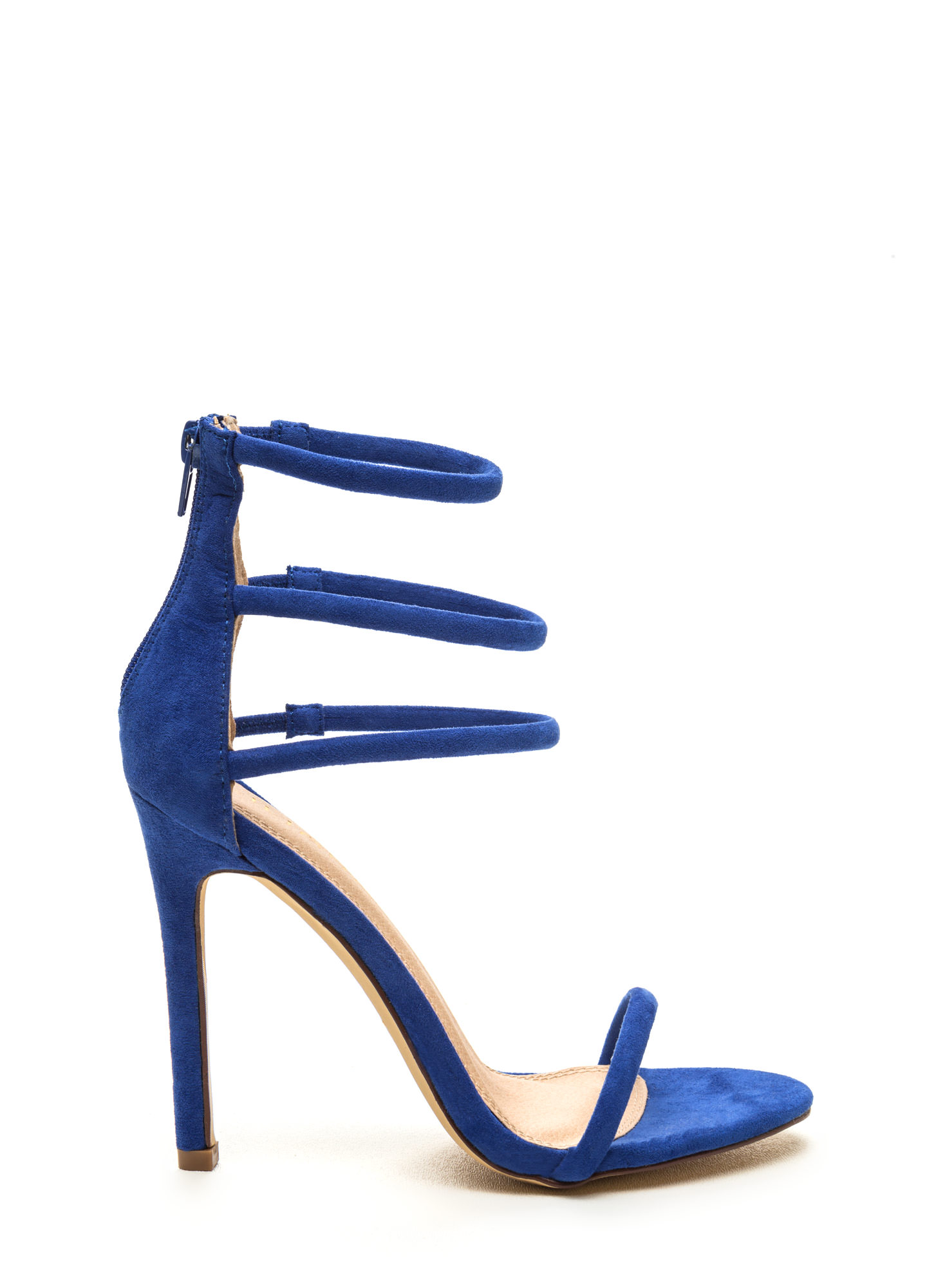 Strappy Blue Heels ksO6wFQI