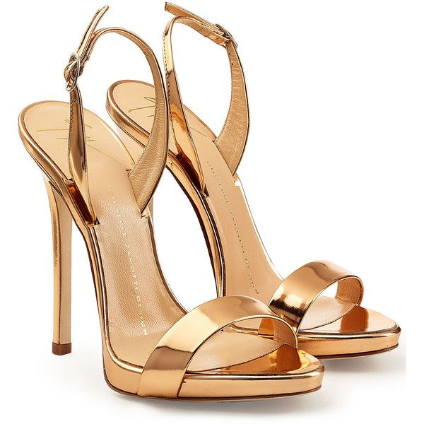 Strappy Gold High Heels a9UnqfJb