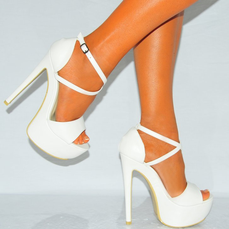 Strappy High Heel Shoes eeD9Bh63