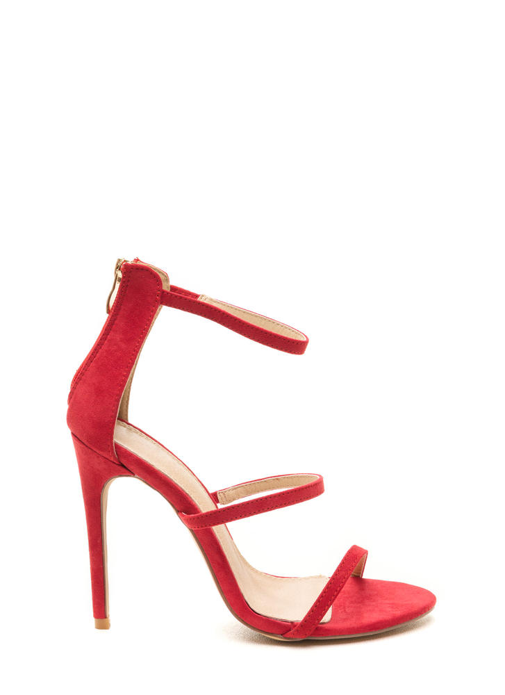 Strappy Red Heels YHR4jeCw