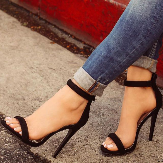 Strappy Shoes Heels IvZqF0dy