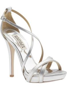 Strappy Silver Heels For Wedding mvLm4uo8