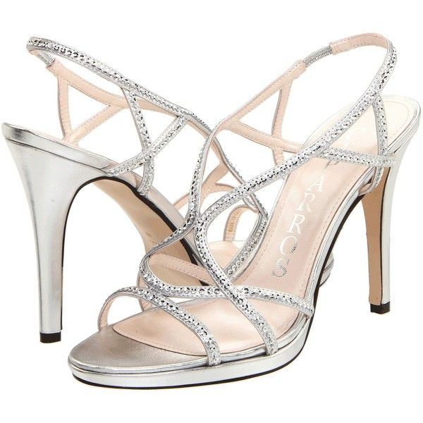 Strappy Silver Heels For Wedding VGClWBBR