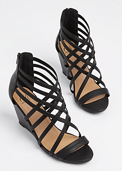 Strappy Wedge Heels IskPYyuh