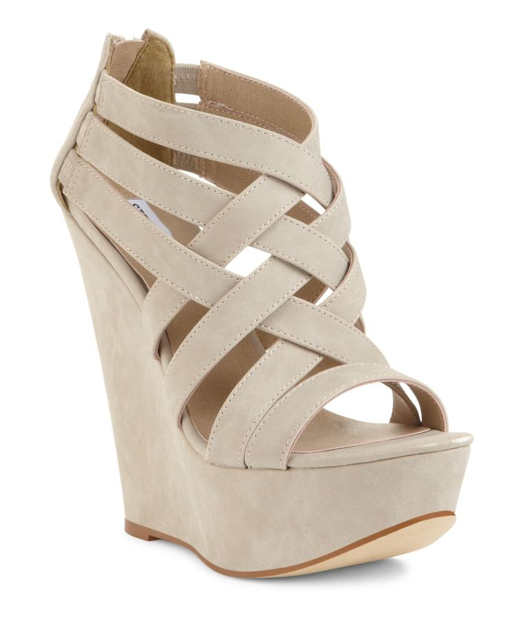 Strappy Wedge Heels ceU148FZ