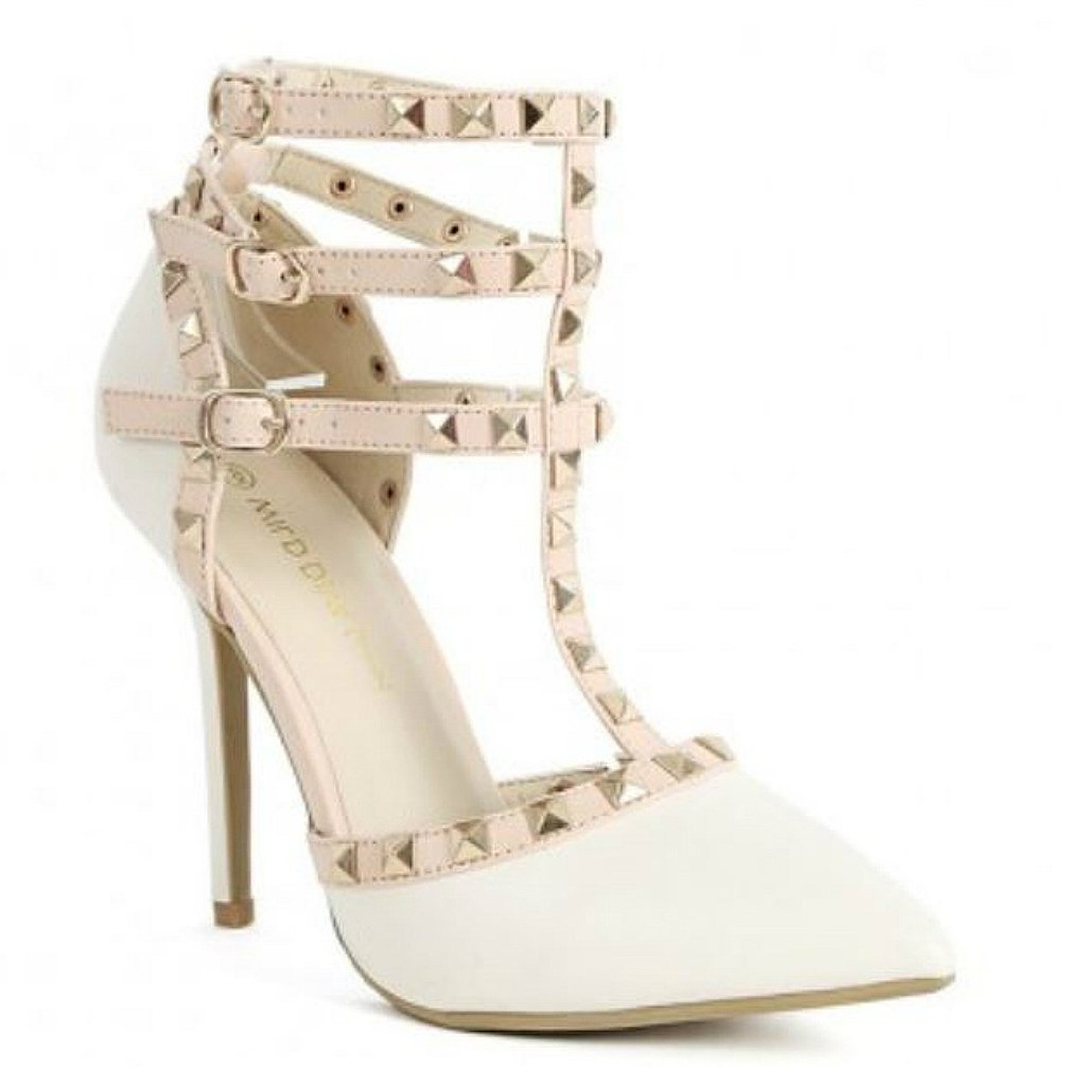 Studded Strappy Heels PUHYD91V