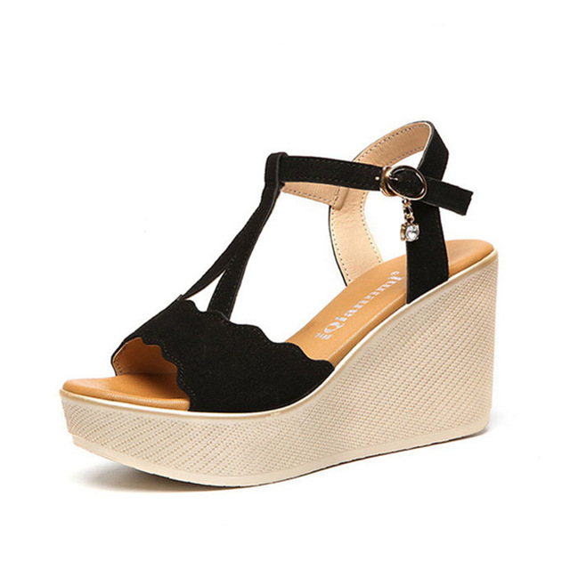 Thick Wedge Heels y6A6MWQn
