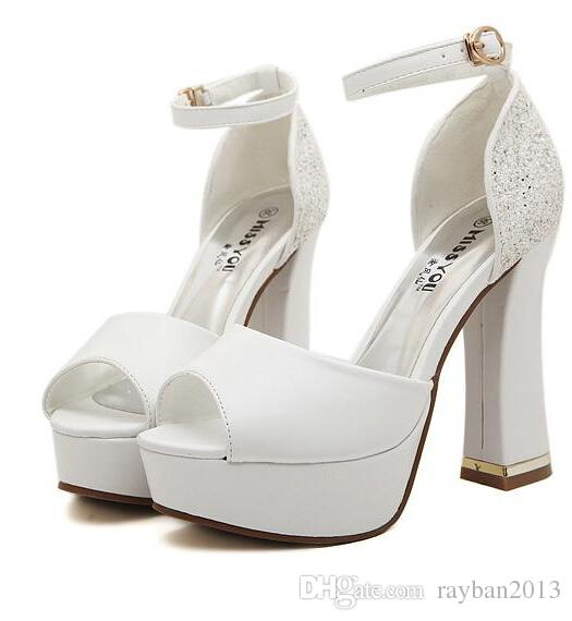 Wedding Platform Heels TJYc68dl