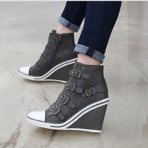 Wedge Heel Sneakers For Women uC2uaTLh