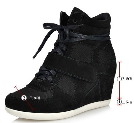Wedge Heel Sneakers For Women rNuCuoJK