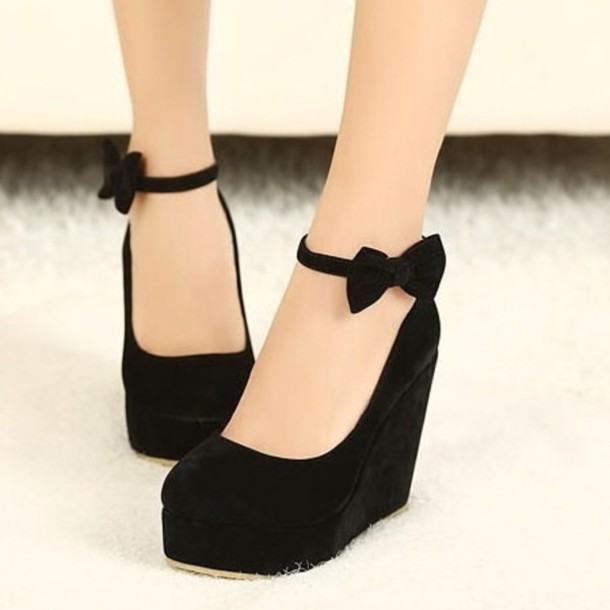 Wedge High Heel Shoes IVYuGHwp