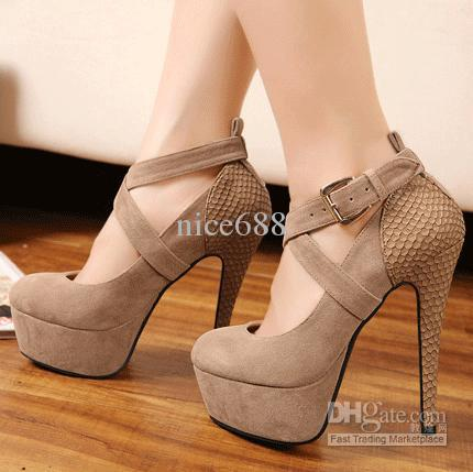 Wedge High Heel Shoes 3N6WGDgu