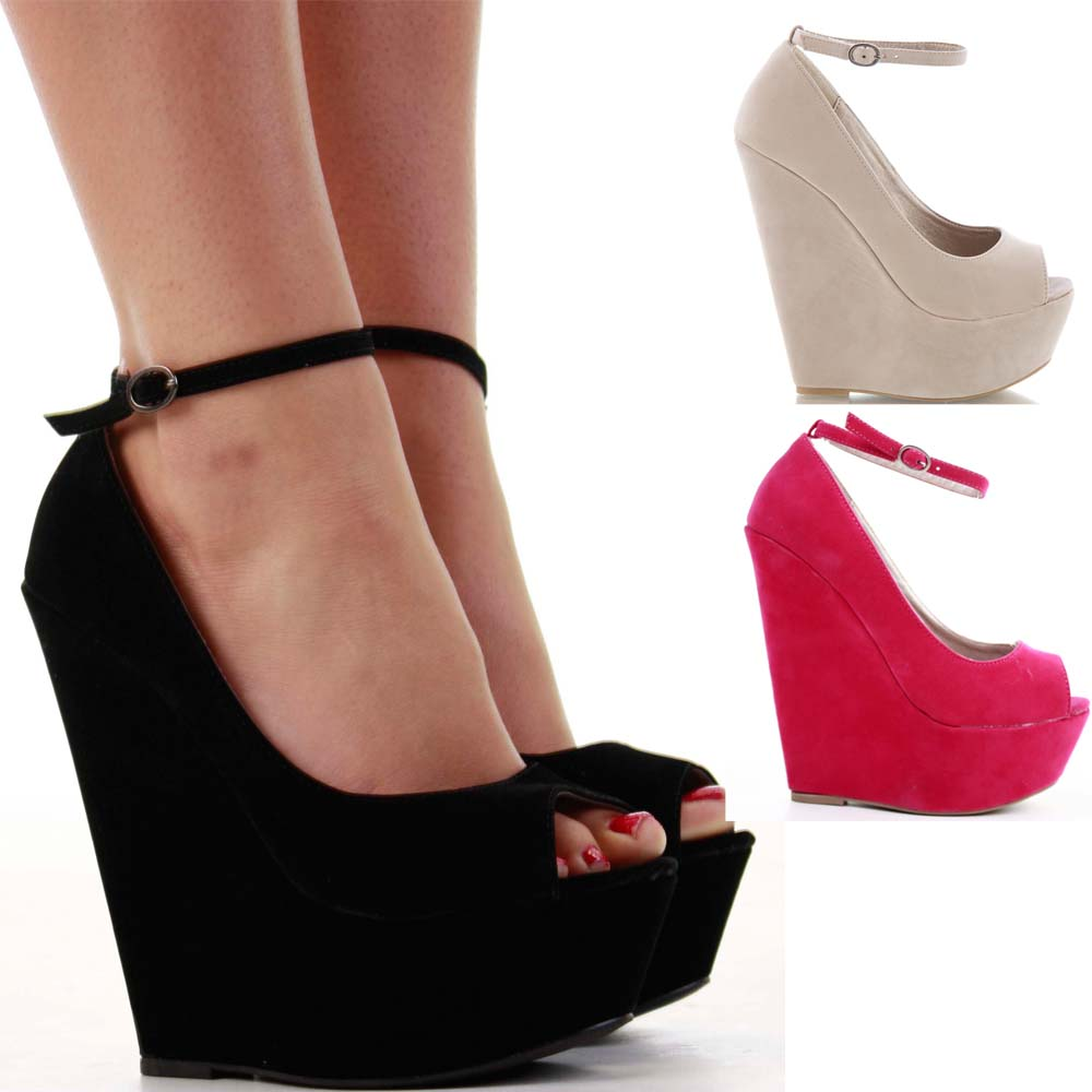 Wedge High Heel Shoes qG48s3lR